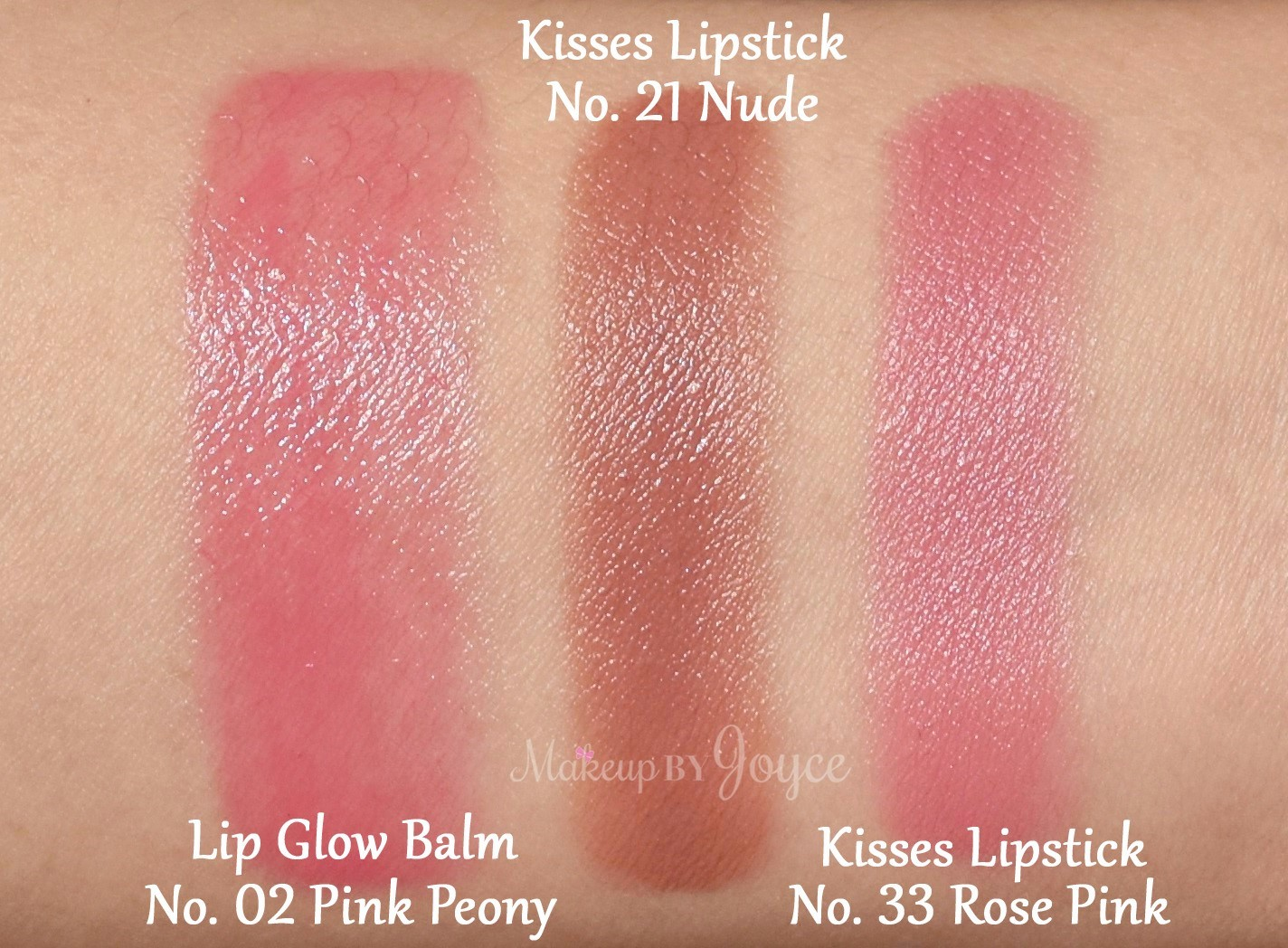 Makeupbyjoyce   Swatches  Comparison Nude And -3194