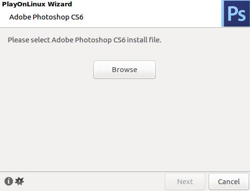 Mencari file photoshop di linux