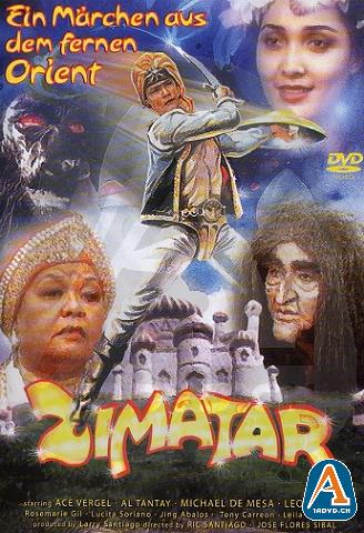 Image of the movie poster of Zimatar, a popular action series on radio