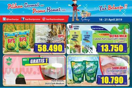 Katalog Promo Hari Hari Swalayan KJSM Weekend 18 - 21 April 2019