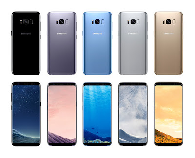 Samsung Galaxy S8 S8 Plus Colors