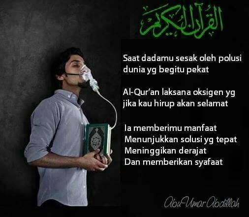 Islamic Quotes #1 : Al-Quran kunci KEHIDUPAN
