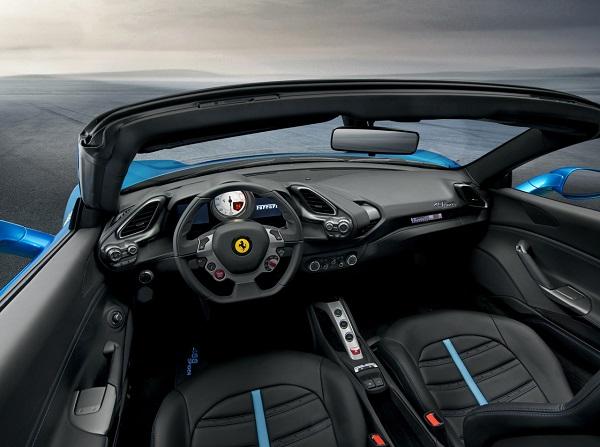 Interior Ferrari 488 Spider