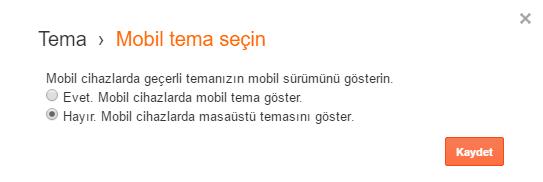 Blogger blogspot mobil uyumluluk sorunu giderme