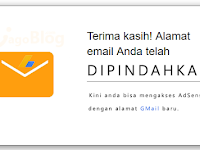 Tips Menambah dan Merubah Email Pada Google Adsense