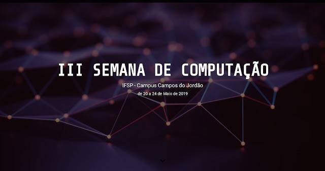 III SECOMP Semana da Computação (Campos do Jordão) - Convite 3