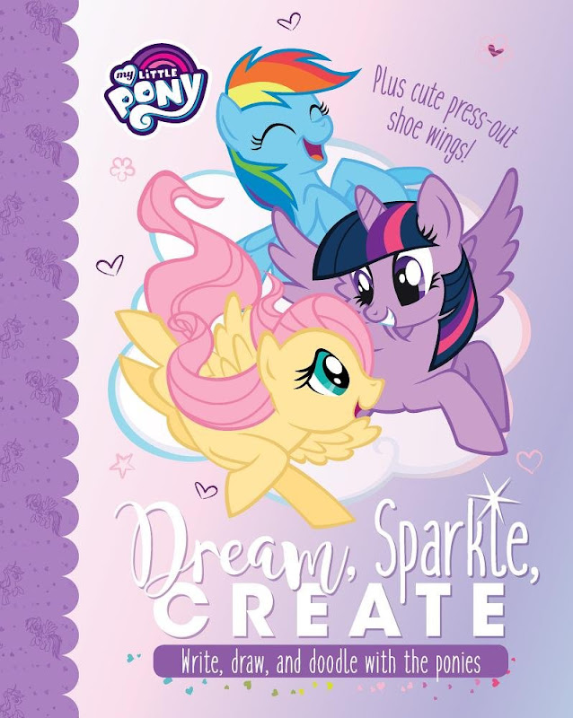 My Little Pony Dream Sparkle Create Books Mlp Merch