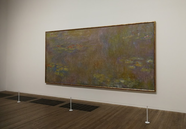 London 2017 - Claude Monets Wasserlilien in der Tate Modern