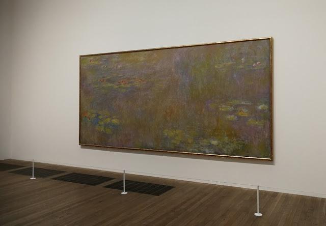 London 2017 - Claude Monets Wasserlilien in der Tate Modern