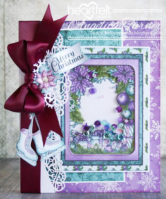 bellisima vida  merry christmas with heartfelt creations