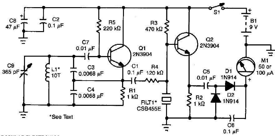 Electronic Circuits for Beginners: Metal Detector