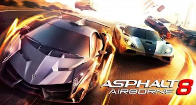 Asphalt 8: Airborne Apk v2.4.0h Terbaru