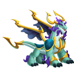 Aquaking Dragon (Adult)