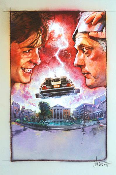 Regreso al futuro Poster Drew Struzan 8