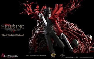 "Alucard Elite Exclusive Statue de ""Hellsing"" - Figurama Collectors"