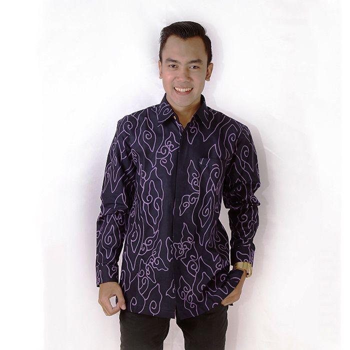 ッ 12 Model Kemeja Gamis Batik Mega Mendung Untuk Pria Dan Wanita