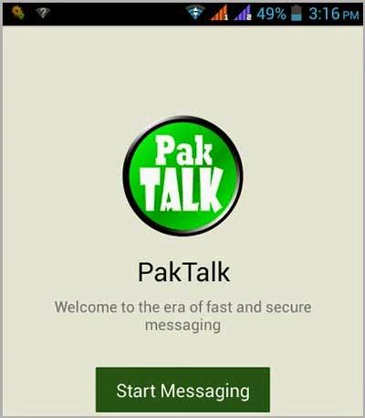 PakTalk New Competitor of Whatsapp In Pakistan