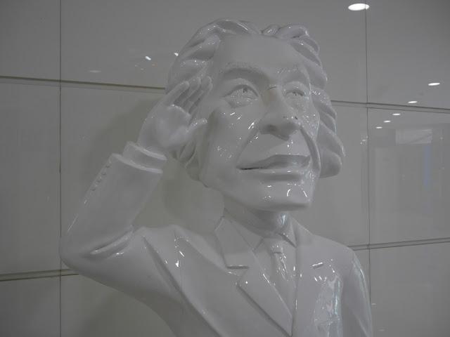 statue of Junichiro Koizumi in Dalian, China
