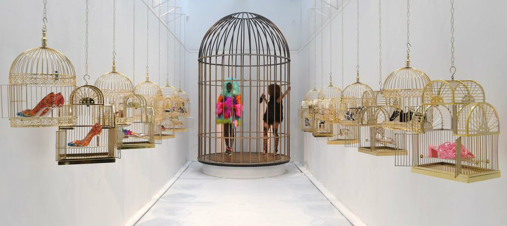 Sophia Webster SS17 - the caged birds