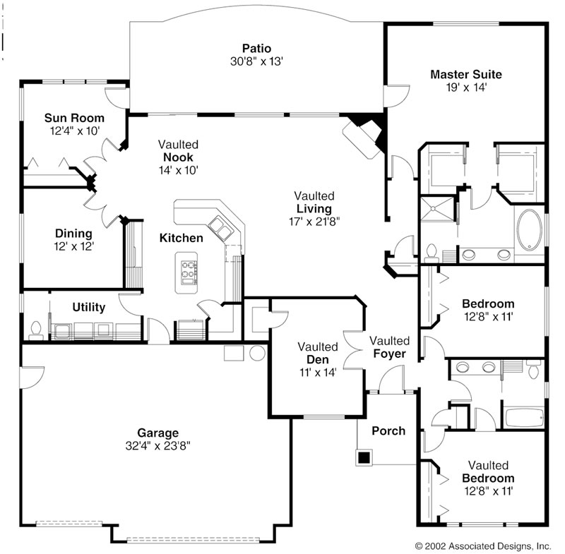 Photo Home Site: Ranch Style House