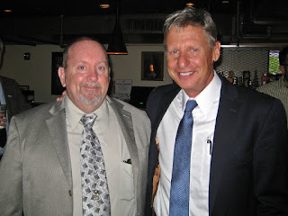 Shawn Quinn and Gary Johnson