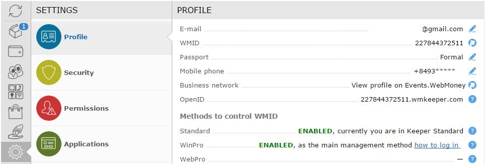 Webmoney WinPro