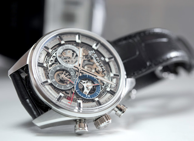 Meilleur Réplique Montre Zenith Chronomaster El Primero Full Open 38.00 De Luxe