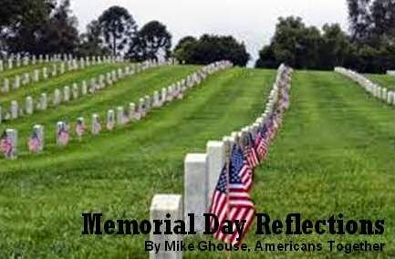 Memorial Day Reflections by Mike Ghouse