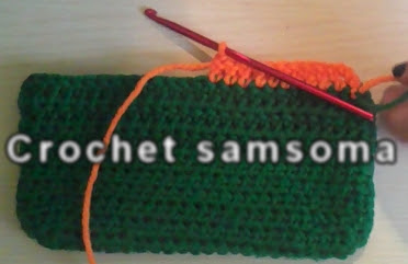 طريقة تغيير لون الخيط في الكروشيه - How to change colors in crochet