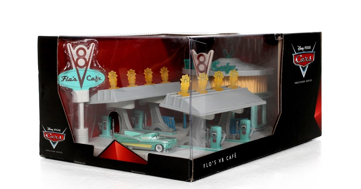 Cars Flo S V Cafe Playset
