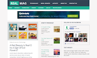 RealMag Responsive Blogger Template