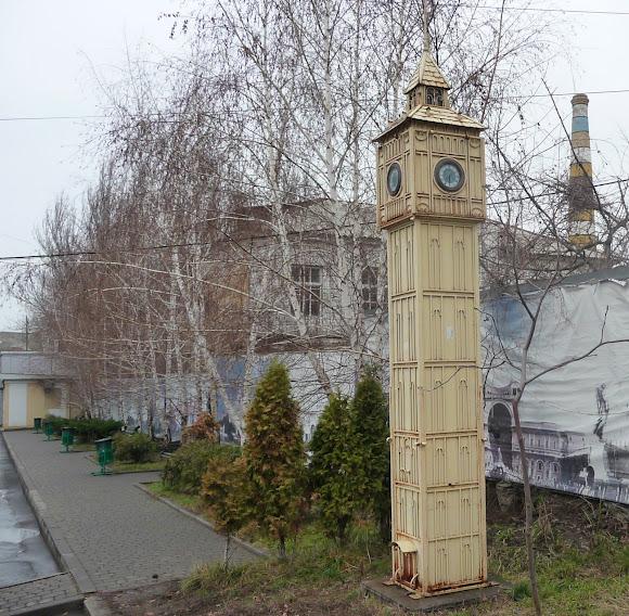 Константиновка. Big Ben – копия часовой башни в Лондоне