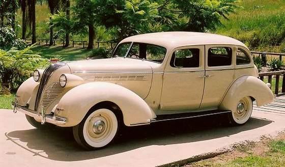Hudson on 1937 Ford 4 Door Sedan