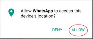 Cara Melacak Lokasi Teman di WhatsApp 3