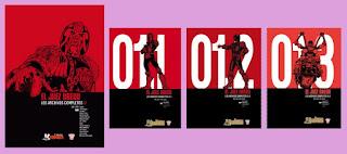 portadas de los archivos completos 01 Juez Dredd
