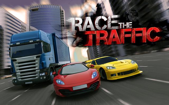 تحميل اللعبة المدفوعة Racing In Traffic v1.0.5 كاملة للاندرويد