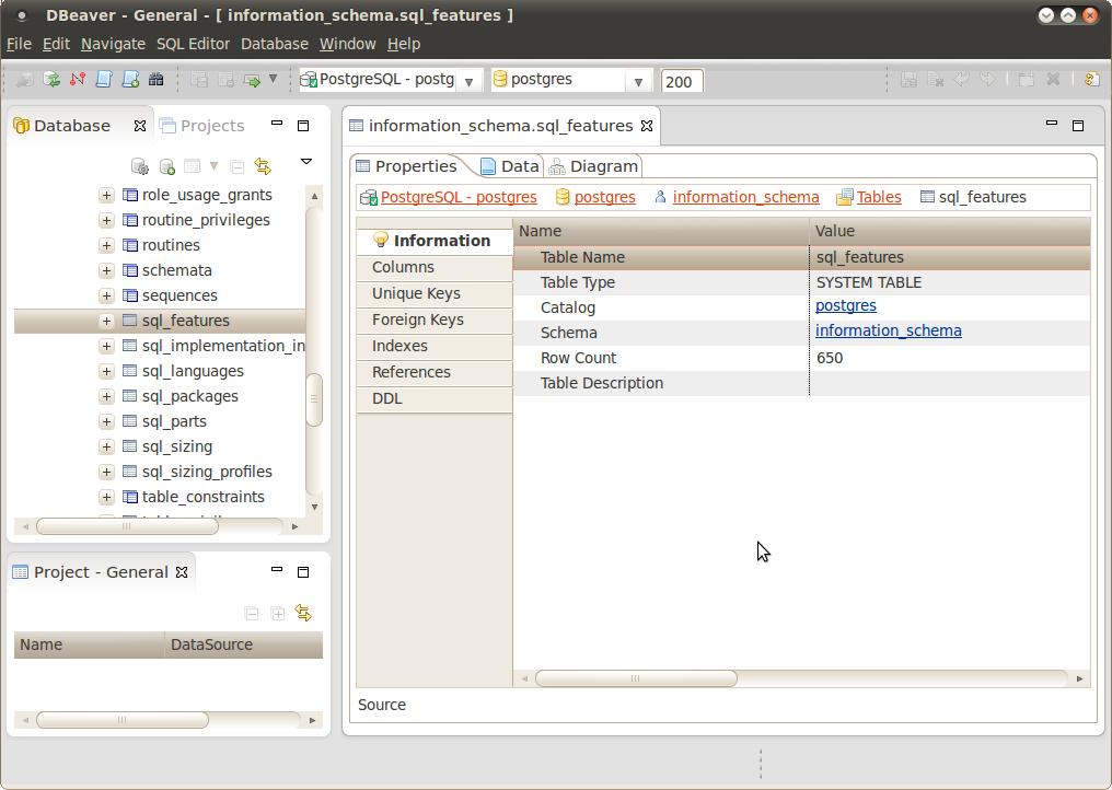 Meu Blog de PostgreSQL!!!: DBeaver: Concorrente Sério para o