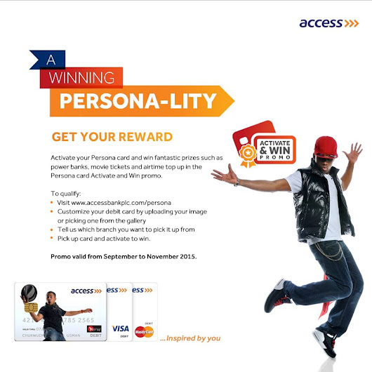 @MyAccessBank Activate and Win Promo. Win Big