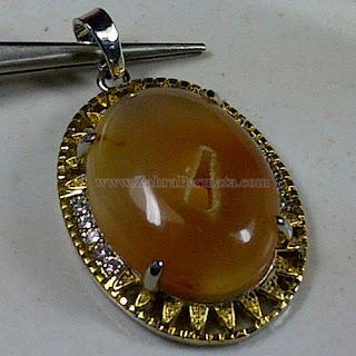 Liontine Batu Combong Antik - ZP 1051