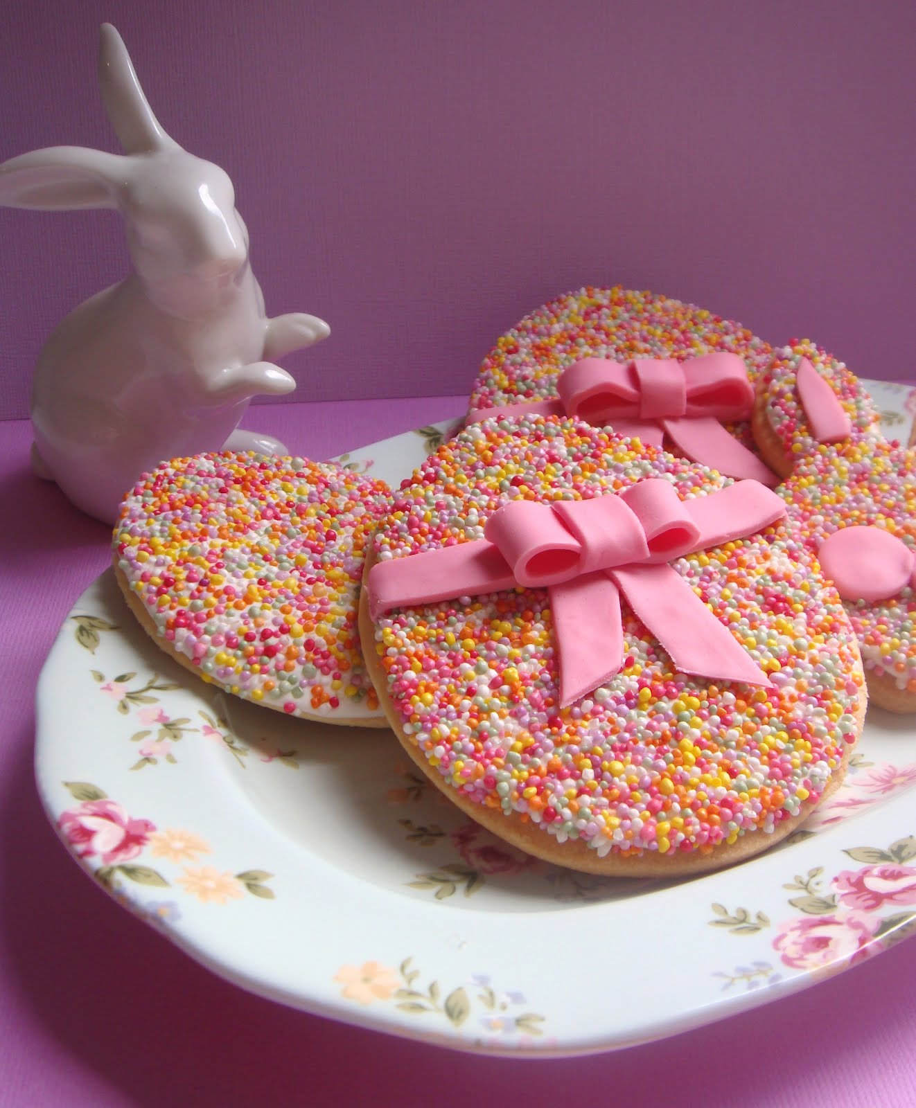 Butter Hearts Sugar: Easy Easter Egg Cookies