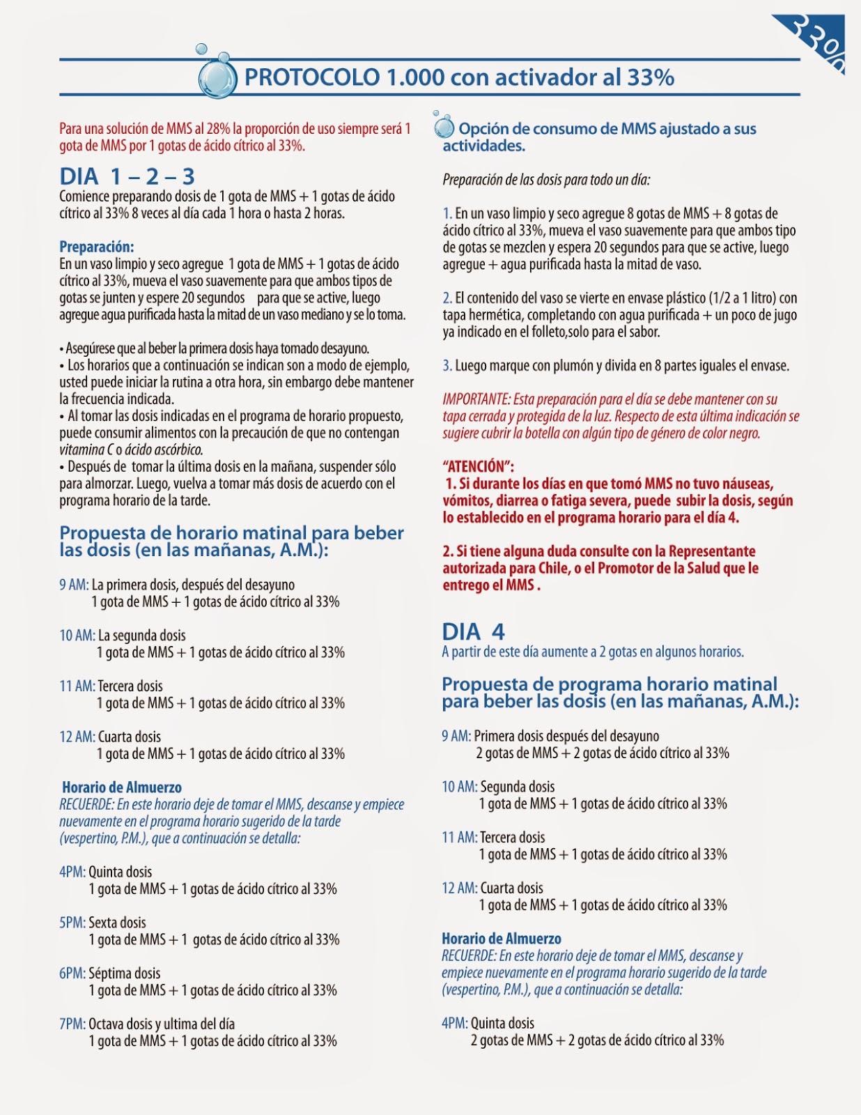 mms, mms chile, mms cáncer, clorito de sodio, dióxido de cloro, mms dióxido de cloro,protocolo 1.000,