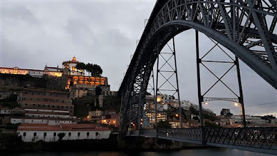 Dom Luís I Bridge at Night