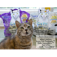 Review & Giveaway: What makes Lucy Pet Products™ Cats Incredible™ Cat Litter...well, Incredible!