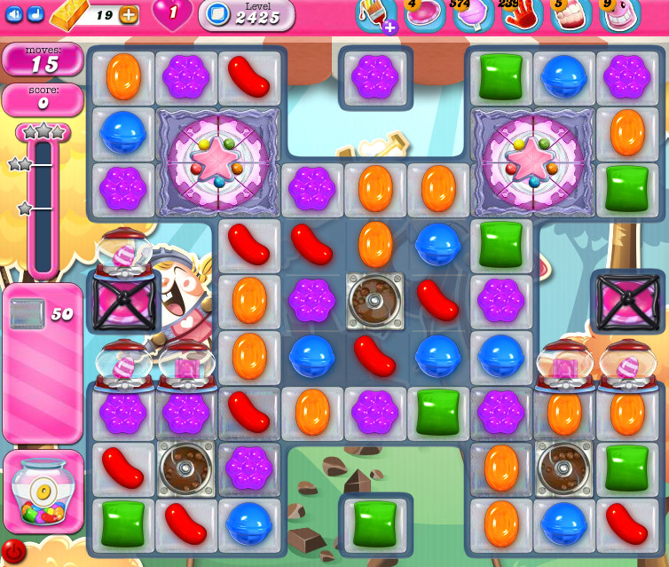 Candy Crush Saga level 2425