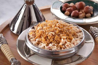 حلاوة الذرة بالبندق - مطبخ منال العالم