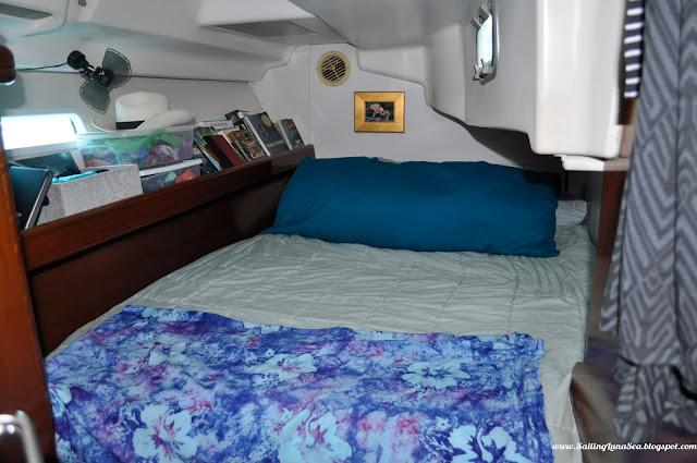 aft cabin boat interior