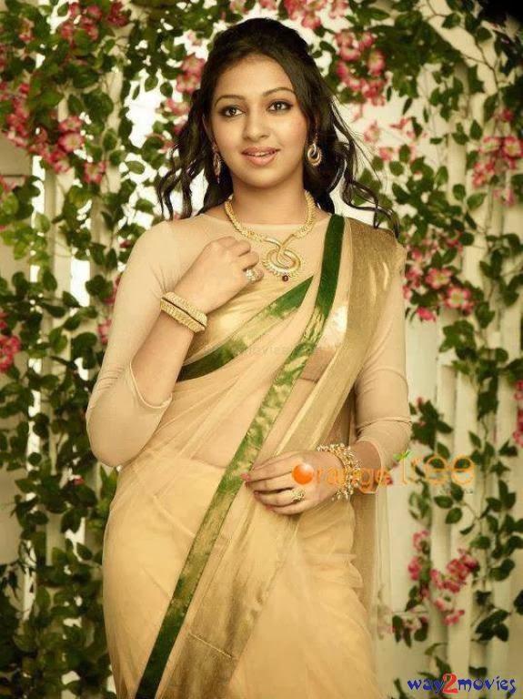 Lakshmi Menon Hot And Cute In Half Saree Photos  Veethi-7847