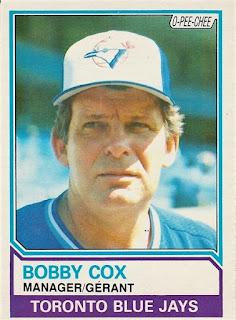 O-Pee-Chee Bobby Cox