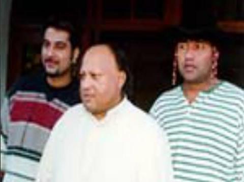 Ustad Nusrat Fateh Ali Khan , Bally Sagoo and Anu Malik | NusratSahib.Com