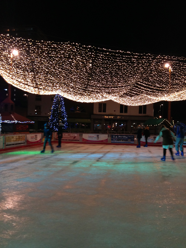 Hello Freckles Ice Skating Frost Village Keel Square Sunderland Christmas